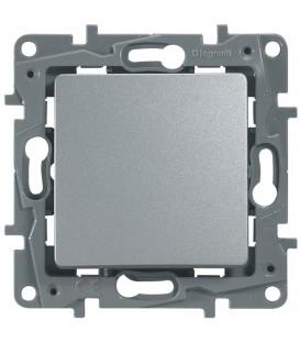 Кнопка Etika Plus (алюминий)
