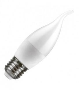 Лампа светодиодная свеча на ветру Feron 7W 4000K 230V E27 белый свет