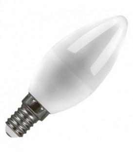 Лампа светодиодная свеча Feron 7W 6400K 230V E14 16LED холодный свет