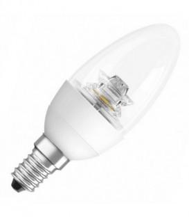 Лампа светодиодная свеча Osram LED CLAS B CL 40 5,7W/827 DIM 470lm 220V E14