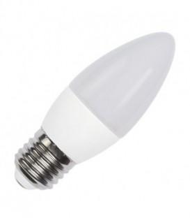 Лампа светодиодная свеча FL-LED C37 7,5W 6400К 220V E27 37х108 700Лм холодный свет