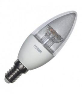 Лампа светодиодная свеча Osram LED CLAS B CL 40 5,4W/830 240° 470lm 220V E14