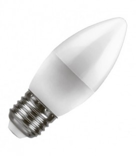 Лампа светодиодная свеча Feron 5W 2700K 230V E27 теплый свет