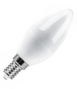 Лампа светодиодная свеча Feron 5W 4000K 230V E14 белый свет