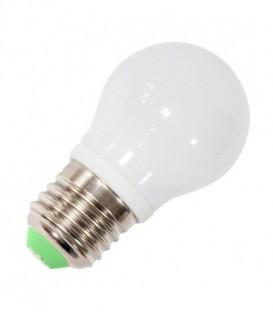 Лампа светодиодная шарик Feron 5W 4000K 230V E27 9LED G45 белый свет