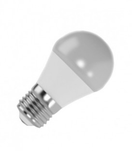 Лампа светодиодная шарик FL-LED GL45 7,5W 6400К 220V E27 45х80 700Лм холодный свет