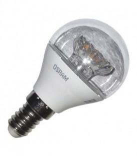 Лампа светодиодная шарик Osram LED CLAS P CL 40 5,4W/830 240° 470lm 220V E14