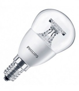 Лампа светодиодная Philips LED 5,5 (40)W 2700K 470lm E14 230V P45 CL теплый свет