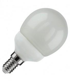 Лампа светодиодная шарик FL-LED-GL45 6W 2700К 480lm 220V E14 теплый свет