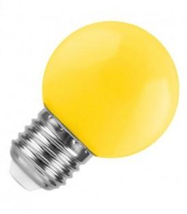 Лампа светодиодная шарик DECOR GL45 LED 0,6W YELLOW 230V E27 желтый