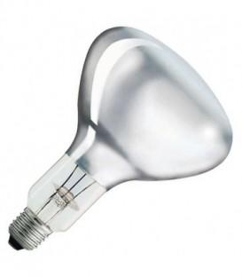 Лампа инфракрасная Philips R125 IR 375W E27 230-250V CL прозрачная