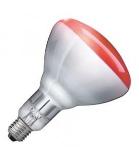 Лампа инфракрасная Philips BR125 IR 150W E27 красная