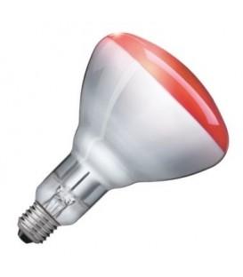 Лампа инфракрасная Philips BR125 IR 250W E27 красная