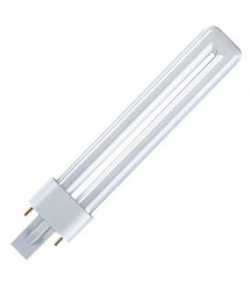 Лампа для шеллака Osram Dulux S BLUE UVA 11W/78 G23 2.6W 350-435nm сушка гель-лака