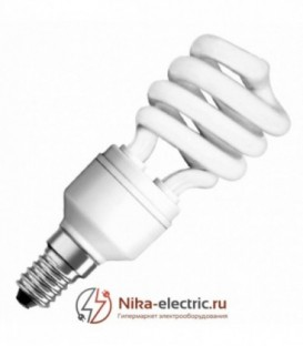 Лампа энергосберегающая Osram Mini Twist 15W/840 E14