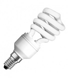 Лампа энергосберегающая Osram Mini Twist 12W/827 E14