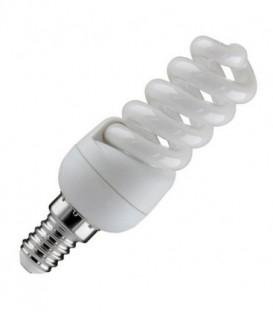 Лампа энергосберегающая 9W 6400K E14 спираль d32x90 холодная