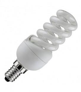 Лампа энергосберегающая 11W 6400K E14 спираль d32x97 холодная