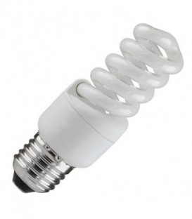 Лампа энергосберегающая 13W 2700K E27 спираль d40x83 теплая
