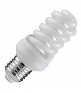 Лампа энергосберегающая 15W 6400K E27 спираль d46x98 холодная