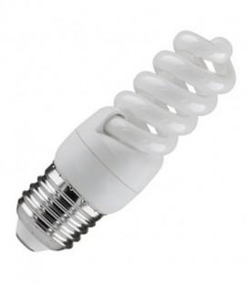 Лампа энергосберегающая 9W 2700K E27 спираль d32x90 теплая