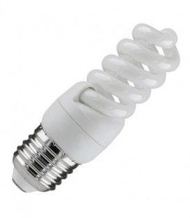 Лампа энергосберегающая 11W 2700K E27 спираль d32x97 теплая