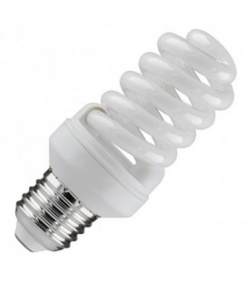 Лампа энергосберегающая 15W 2700K E27 спираль d46x98 теплая