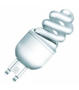 Лампа энергосберегающая Osram 5W/825 G9 теплая, спираль d30x80