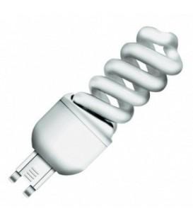 Лампа энергосберегающая Osram 9W/825 G9 теплая, спираль d30x98