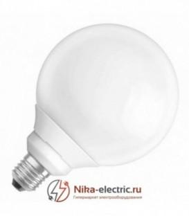 Лампа энергосберегающая Osram GLOBE 18W/825 E27 d120x170