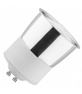 Лампа энергосберегающая MR16 7W 6400K GU10 холодная, d50x59