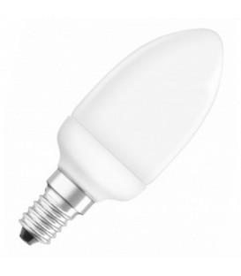Лампа энергосберегающая Osram Mini Candle 5W/827 E14