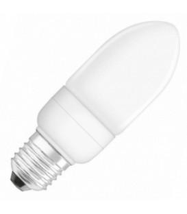 Лампа энергосберегающая Osram Mini Candle 9W/827 E27