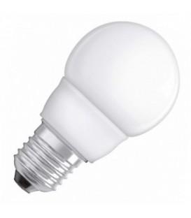 Лампа энергосберегающая Osram Mini Globe 5W/827 E27 d57x98