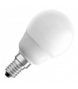 Лампа энергосберегающая Osram Mini Globe 5W/827 E14 d57x105