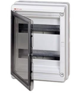 Бокс настенный ABB Europa 24 мод. серый с прозрачной дверцей IP65