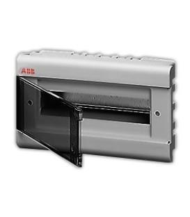 Бокс встраиваемый ABB Europa 12 мод. серый с прозрачной дверцей IP40