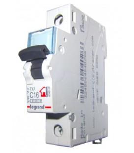 Автоматический выключатель Legrand TX3 C16А 1п 6000