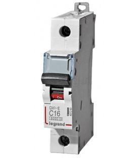Автоматический выключатель Legrand DX3-E C16A 1п 6000/6kA
