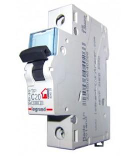 Автоматический выключатель Legrand TX3 C20A 1п 6000
