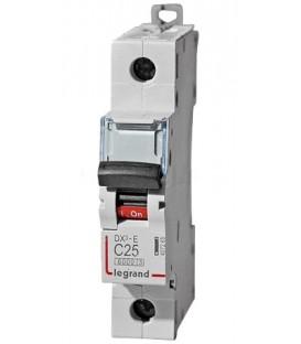 Автоматический выключатель Legrand DX3-E C25A 1п 6000/6kA