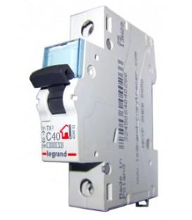 Автоматический выключатель Legrand TX3 C40A 1п 6000