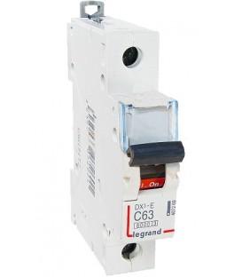 Автоматический выключатель Legrand DX3-E C63A 1п 6000/6kA