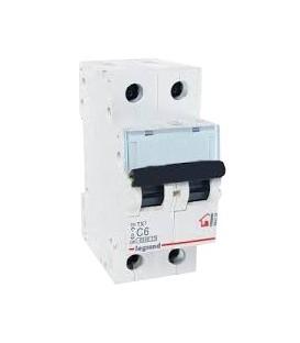 Автоматический выключатель Legrand TX3 C6А 2п 6000