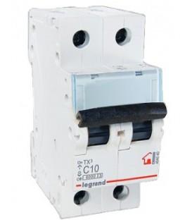 Автоматический выключатель Legrand TX3 C10A 2п 6000