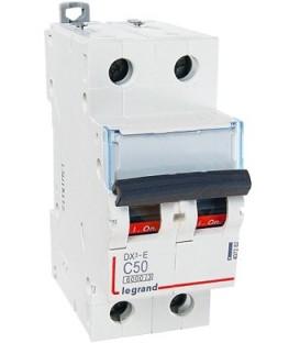 Автоматический выключатель Legrand DX3-E C50A 2п 6000/6kA