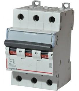 Автоматический выключатель Legrand DX3-E C16A 3п 6000/6kA