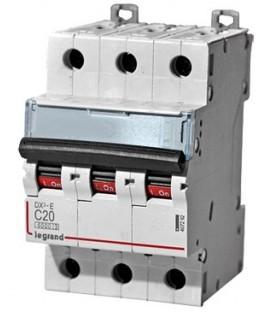 Автоматический выключатель Legrand DX3-E C20A 3п 6000/6kA