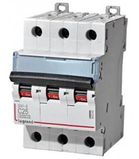 Автоматический выключатель Legrand DX3-E C25A 3п 6000/6kA