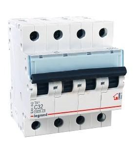 Автоматический выключатель Legrand TX3 C32А 4п 6000
